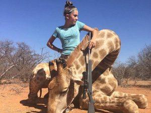 big-game-hunter-Aryanna-Gourdin-with-giraffe-facebook-640x480
